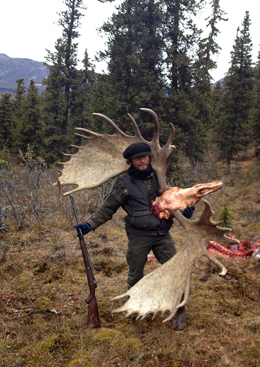Our Wrangell-St.Elias guided moose hunts offer large moose.