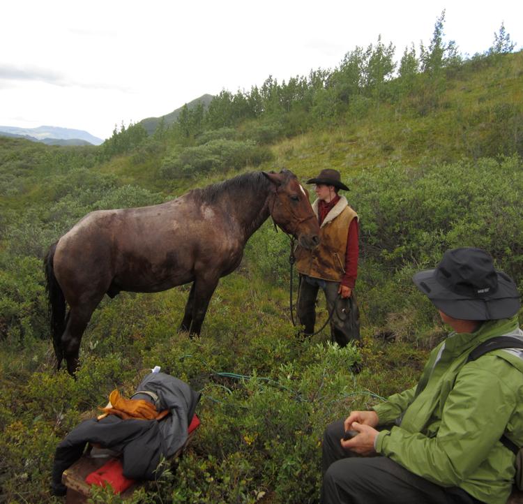 Horse whispering.